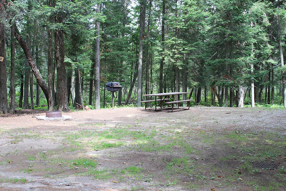 campsite at deer river campsite in ny