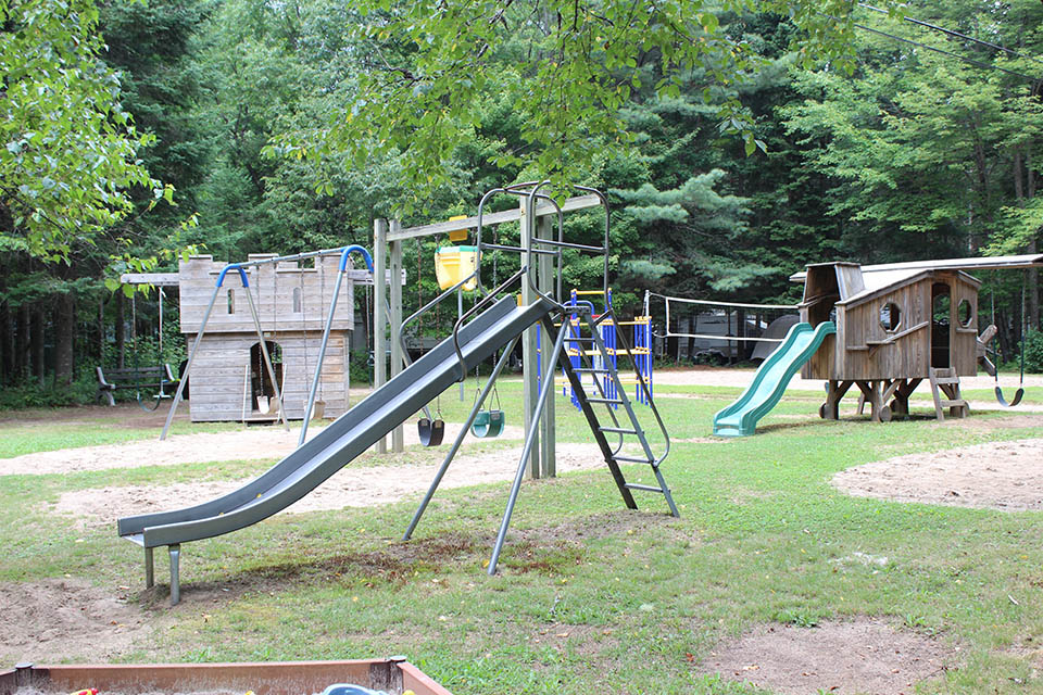 playground at deer river campsite in ny