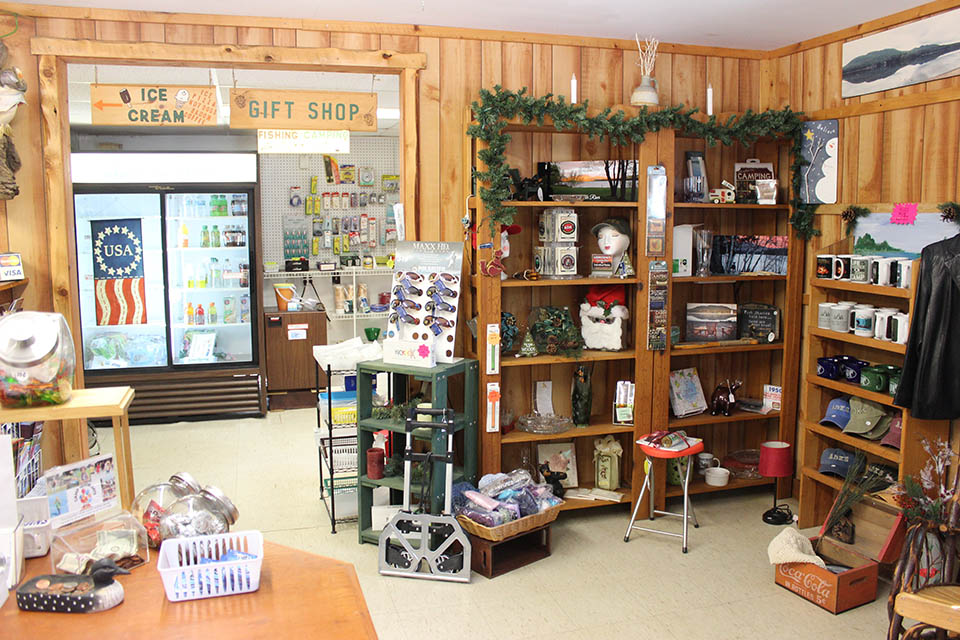 The camp store