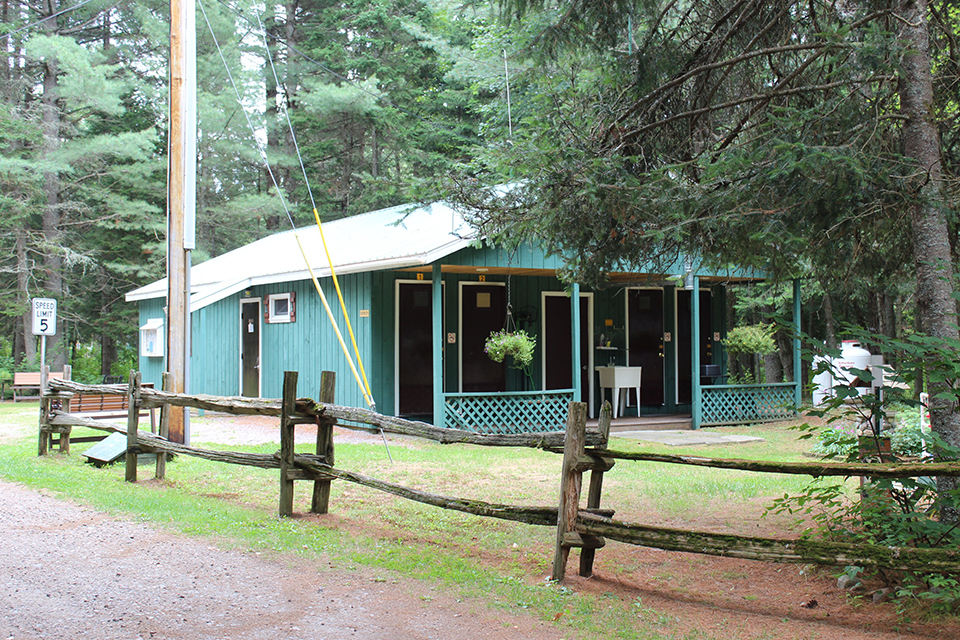 New York Campground Recreation Building